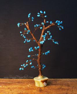 Денежное дерево, кахолонг, ручная работа