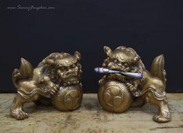 СОБАЧКИ ФУ (БУДДЫ) керамика