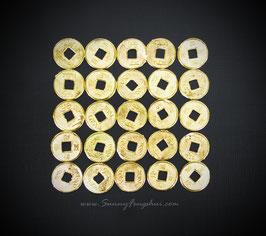 Императорские монеты, золотистая