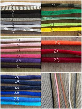 Le cordon seul coton ou suédine