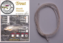 Trout Monofil Dyneema (Superfine)