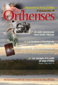 ORTHENSES N°15 - Janvier 2010