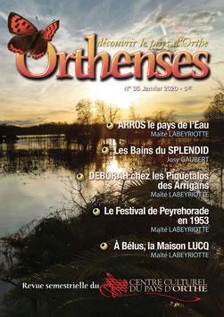 ORTHENSES N°35- Janvier 2020