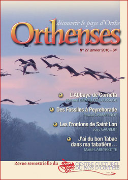 ORTHENSES N°27 - Janvier 2016
