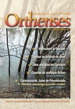 ORTHENSES N°21 - Janvier 2013