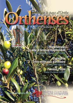 ORTHENSES N°30 - Été 2017