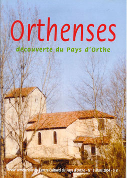 ORTHENSES N°3 - Janvier 2004
