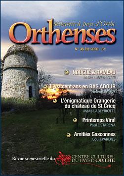 ORTHENSES N°36- Été 2020
