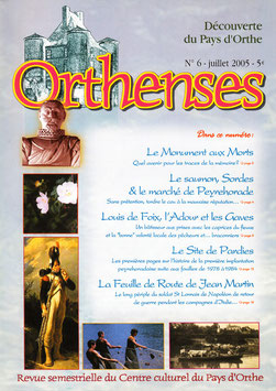 ORTHENSES N°6 - Juillet 2005