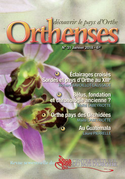 ORTHENSES N°31 - Janvier 2018