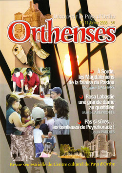ORTHENSES N°11 - Janvier 2008