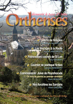 ORTHENSES N°20 - Été 2012