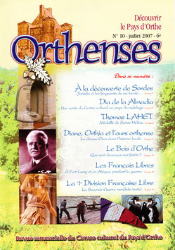 ORTHENSES N°10 - Juillet 2007