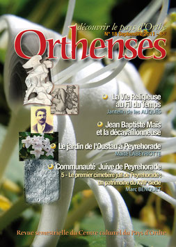 ORTHENSES N°18 - Septembre 2011