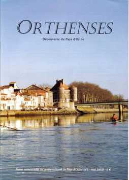 ORTHENSES N°1 - Janvier 2003