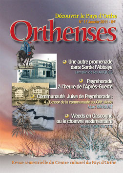 ORTHENSES N°17 - Janvier 2011