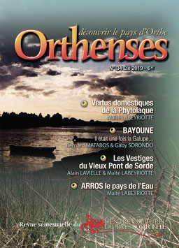 ORTHENSES N°34- Été 2019