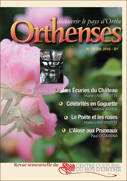 ORTHENSES N°28 - Été 2016