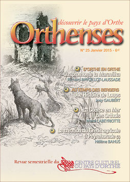 ORTHENSES N°25 - Janvier 2015