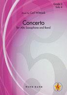 アルトサクソフォンのための協奏曲(C.ヴィトロック)【吹奏楽】【海外お取寄せ品 納期:1ヶ月以内】