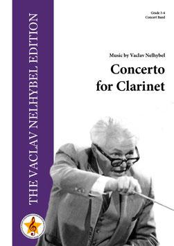 クラリネットのための協奏曲(V.ネリベル)【吹奏楽】【海外お取寄せ品 納期:1ヶ月以内】
