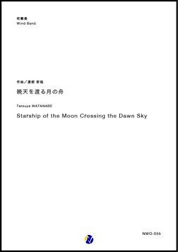 暁天を渡る月の舟