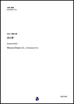 波の夢(近藤礼隆)【木管三重奏】