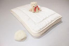 Zudecke Schafschurwolle