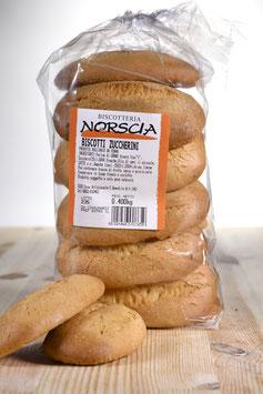 Biscotti zuccherini - scatola con 10 confezioni da 400 grammi