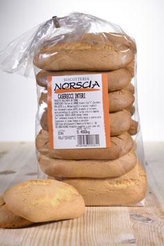 Biscottoni Caserecci interi - scatola con 10 confezioni da 400 grammi