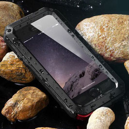 商品名【防滴】指紋認証対応! iPhone6/6Plus ケース防水、防塵、耐衝撃!金属合金バンパーカバー