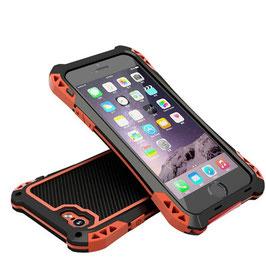 商品名【防滴】iPhone6/6Plus ケ-ス 防水防塵耐衝撃 金属合金バンパーカバー 指紋認証対応!