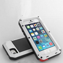 商品名【防滴】指紋認証対応! iPhone5 iPhone5s ケース防水、防塵、耐衝撃!金属合金バンパーカバー