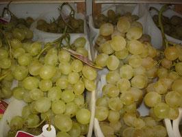 Trauben, weiße Weintrauben