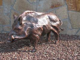 Wildschwein aus Kupfer