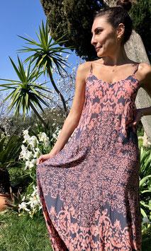 Dress MARGHERITA IKAT - GREYROSE