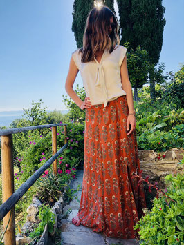 Skirt Margherita - ruggine