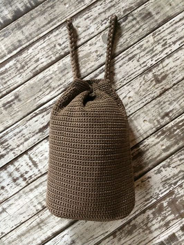 Zainetto Crochet - caffé