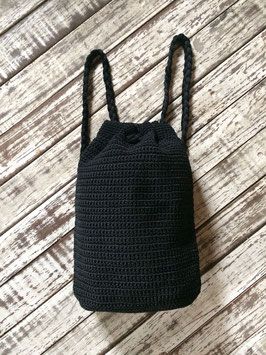 Zainetto Crochet - nero