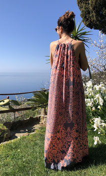 Dress ROCOCO' IKAT - GRAYROSE XL - senza cintura