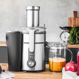 Design Multi Juicer Digital Plus -  Zentrifugal-Entsafter, Standmixer, Schnellzerkleinerer und Kaffeemühle