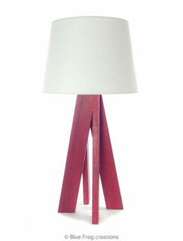 Table Lamp Eleganza - Padauk