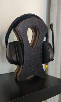 Headphone stand Oak and Wenge