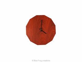 Padauk Dodecagon clock