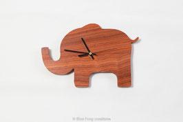 Elephant Clock - Padauk