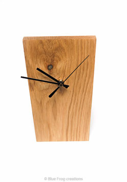 Desk Clock - Oak