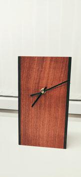 Desk Clock - Padauk & Wenge sides