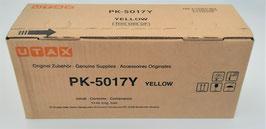 Toner UTAX PK-5017Y für P-C3062DN, P-C3062i MFP, P-C3066i MFP   original