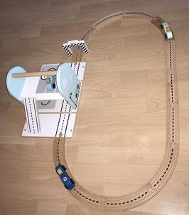 Auto-Rennbahn, personalisiert