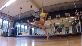 Pole Fitness Level 1 / 1+ Einzelstunde